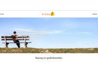 Homepage website Deinstap.org van stichting De Instap